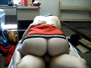 Chubby milf on real homemade
