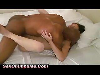 Diggin deep inside sexy brunette mya