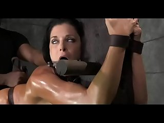 Creampie bondage studio with mature milf