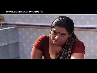 Indian desi stepmom seducing son with big boobs in blouse - Watch Full Video At..