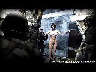 Ada wong gets spooked best free 3d cartoon