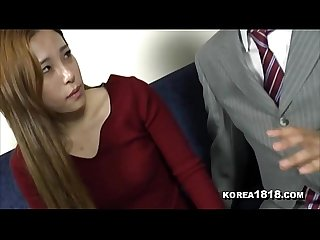 KOREA1818.COM - Hot Korean MILF Seduced and Fucked