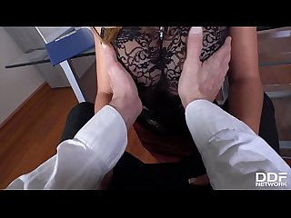 Hot milf secretary frida sante s got a craving for big dick of her boss