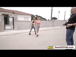 Jogging fuck Buddies with Claudia bavel and francys belle video 01
