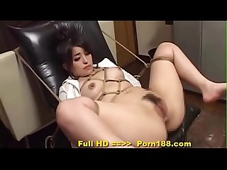 Porn188 period com subtitled bizarre japanese bdsm anal play with enema
