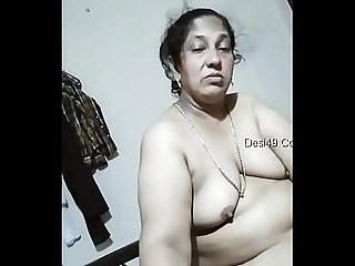 Desi bbw aunty blowjob and swallows cum ,fucked badly // Watch Full 23 min Video At..