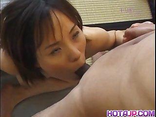 Sensual nao enjoys proper sex
