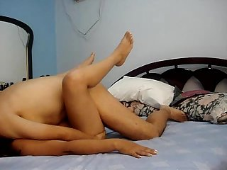 amateur paki couple sex while watching a porn movie