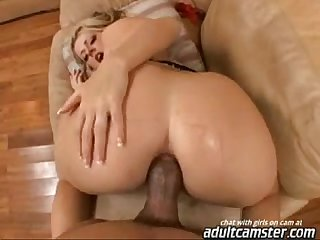 Sophie dee getting fucked in her ass by black cock