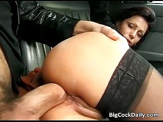 Hot sexy nasty babe sucking and fucking