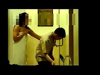 Bhabhi flashing hotel boy