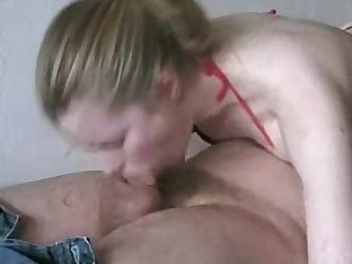 Full blowjob and cum in mouth