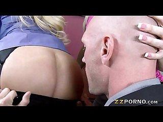 Big boobs bosses alena croft and summer brielle threesome