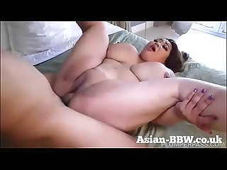 BBW Asian with Gigantic Tits Fucked by Photographer - more at BBW-Asian.com