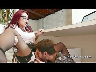 Bf sneaks and fucks girlfriend at work