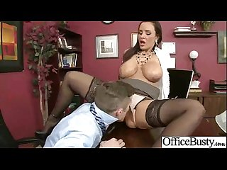 Busty horny girl Lisa ann get hard style sex in office vid 20