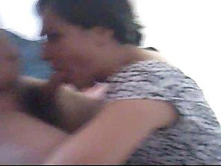 Paola mamando verga