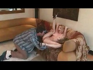 Lain Oi's natural boobs and perfect ass get squeezed hard as a dick plugs her up