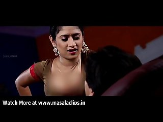 Young telugu actress hot seducing scene