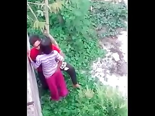 Young bengali couple outdoorfucking record by hidden cam mc