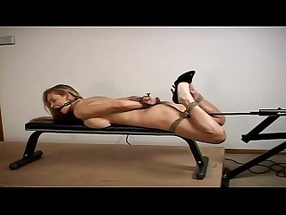 Tanya danielle hogtied and fucked