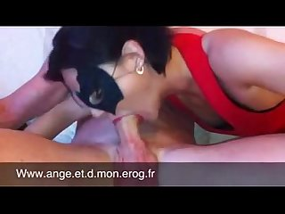 Masked huge deepthroat and cock swallow allcamtubes com