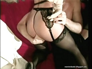 Threesome mature sex