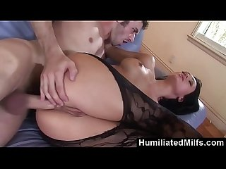 HumiliatedMilfs - Real Rough Fucking Between Victoria Sin & James Deen