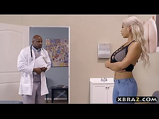 Latina milf bridgette b ass fucked by a black doctor