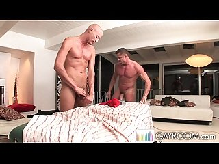 Young cock massage