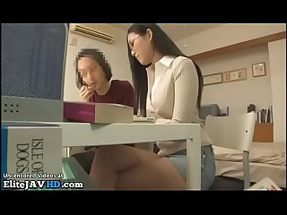 Japanese home teacher helps nerd student more at elitejavhd com