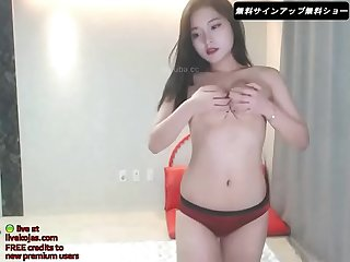 Korean lesbians threesome live at livekojas com