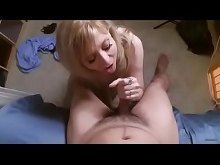 POV Sexy Milf Nina Hartley wants you to pull off her panties and Fuck her