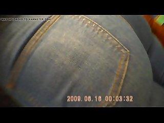 Jeans Jovencita sexy con muy buen Culo