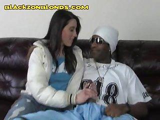Black rapper and white girl