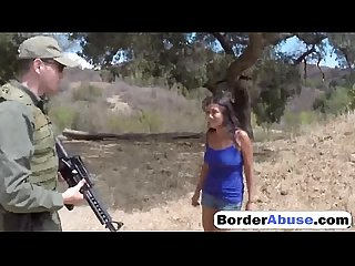 Brunette latina gets abused by the agent s big cock