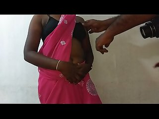 desi indian tamil telugu kannada malayalam hindi horny cheating wife vanitha wearing blue colour..