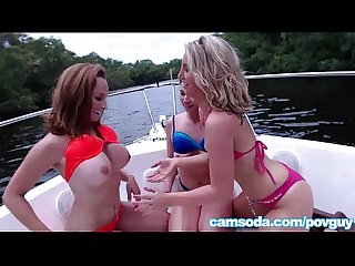 young teens with big tits on a boat fuck pov guy in real public sex scene