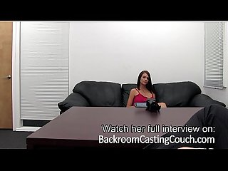 Big tit stripper amateur anal creampie casting