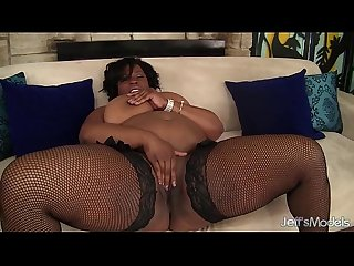 big tittied black girl toys herself