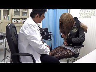Fake doctor colon petite student