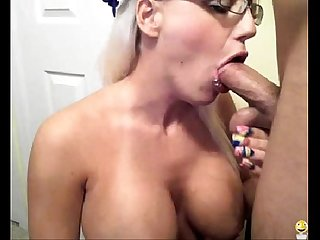 Webcam Spy 26 - Hot Blonde Hot Blowjob