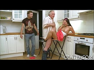 Juvenile sweetie drilled by old lover