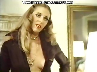 Lyn cuddles malone dan roberts joey silvera in Vintage porn movie