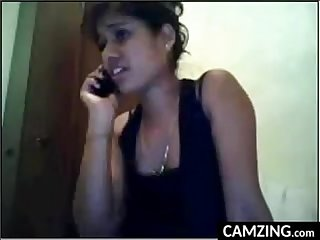 Pretty indian webcam girl