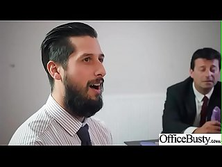 Hot Sex In Office With Big Round Boobs Girl (Christina Shine) video-07