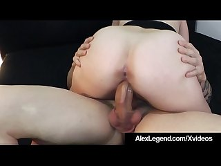 Big French Dick Alex Legend Fucks Hot Brunette Sovereign Syre!