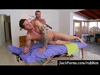 White boys fucked hard by muscle parlor Vid 05