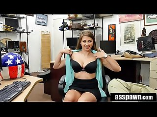Real Spycam Sex: Ivy Rose Pawning Daredevil's Helmet