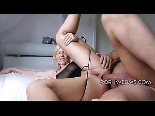 Blonde amateur anal